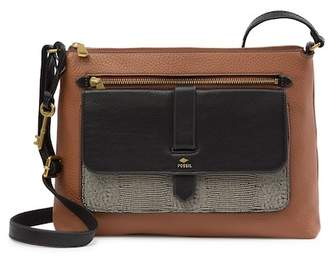 Fossil Kinley Large Leather Crossbody Bag