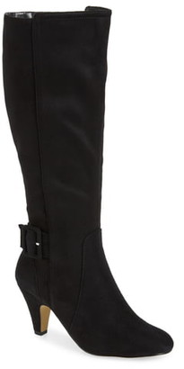 Bella Vita Troy Knee High Buckle Boot