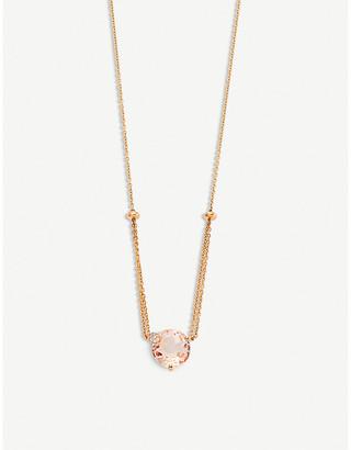 Rosegold BUCHERER FINE JEWELLERY Peekaboo 18ct rose-gold, morganit and diamond necklace