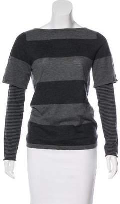 Demy Lee Striped Knit Top