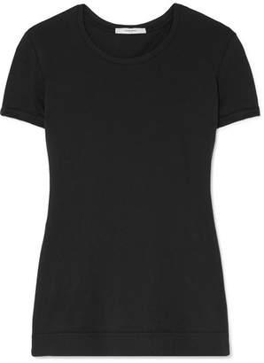 ADAM by Adam Lippes Pima Stretch-cotton Jersey T-shirt - Black