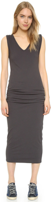 James Perse Twisted Sleeve Tube Dress $194.65 thestylecure.com