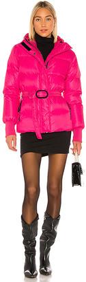 Kenzo Short Belted Puffer Jacket