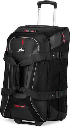 "High Sierra Closeout! At-7 26"" Rolling Duffel"