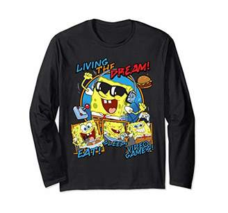 Nickelodeon Spongebob Living The Dream! Long Sleeve T-Shirt