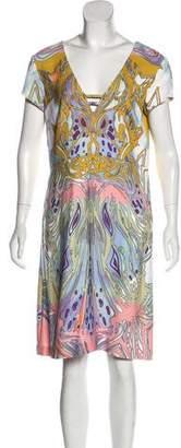 Emilio Pucci Printed A-Line Dress