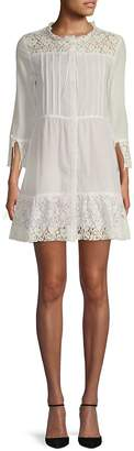 For Love & Lemons Women's Gauze Lace-Trimmed Sundress