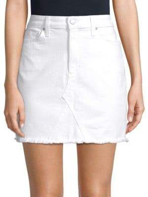 Joe's Jeans Rosa High-Waist Denim Skirt