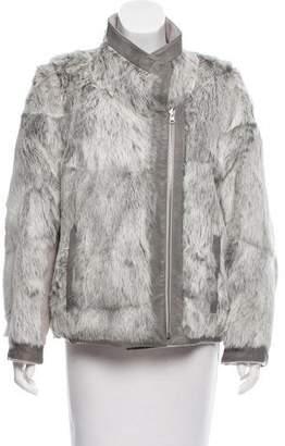 Helmut Lang Void Fur Jacket