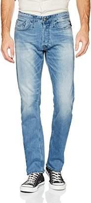 Replay Men's Newbill Straight Jeans, (Light Blue 9), W36/L32 (Size: 36)
