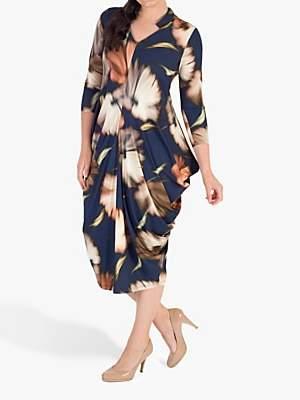 Riviera chesca Chesca Jersey Dress, Blue