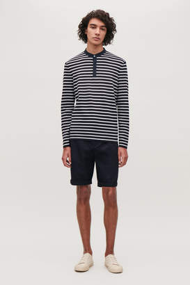 Cos STRIPED COTTON TOP