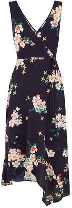 Warehouse Blossom Midi Dress