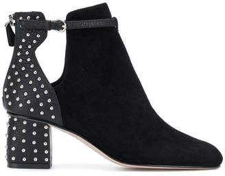 RED Valentino studded heel boots