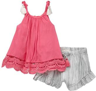 Jessica Simpson Top and Shirts 2-Piece Set (Baby Girls)
