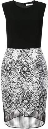 Kimora Lee Simmons ace crepe dress