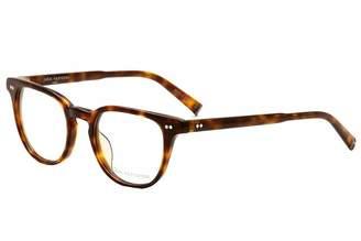 John Varvatos Men's Eyeglasses V205 V/205 Havana Tortoise Full Rim Optical Frame 49mm