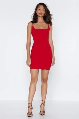 Nasty Gal Know Your Angles Mini Dress