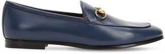 Gucci 10MM JORDAAN HORSEBIT LEATHER LOAFERS