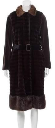 Lanvin Mink Fur Coat