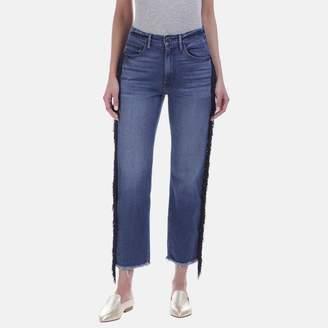 3x1 W3 Higher Ground Cropped Jean in Spanish Fringe