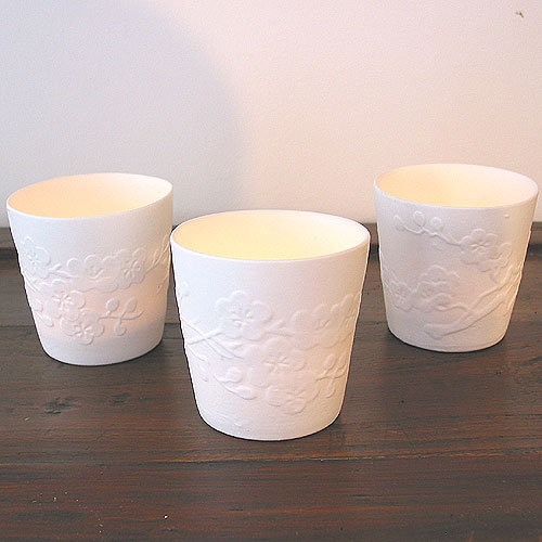 Pols Potten Porcelain Votive Blossom