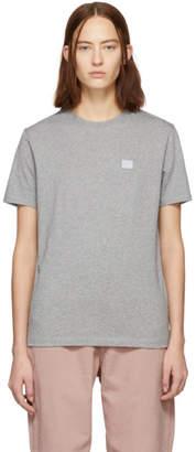 Acne Studios Grey Ellison Face T-Shirt