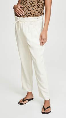 Hatch Linen Paperbag Pants
