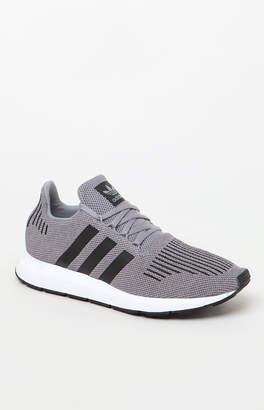 adidas Swift Run Grey & Black Shoes