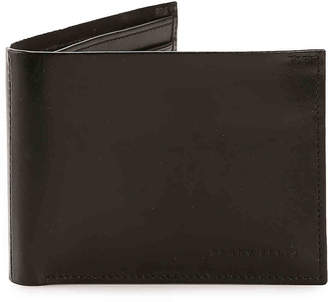 Perry Ellis Spine Joint Passcase Bifold Leather Wallet - Men's