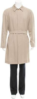Jeffrey Rüdes Wool Belted Trench Coat w/ Tags