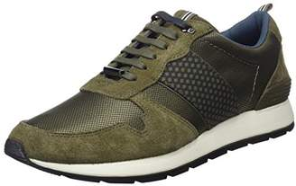 Ted Baker Men's Hebey Trainers, Green (Dk Green #008000), 9 43 EU