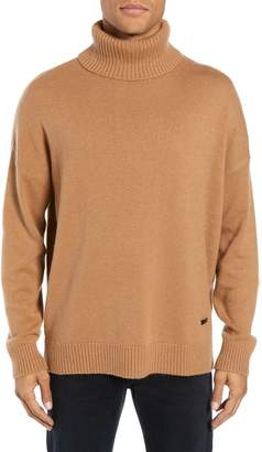The Kooples Wool & Cashmere Turtleneck Sweater