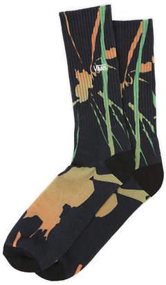 Trippin Tie Dye Crew Sock