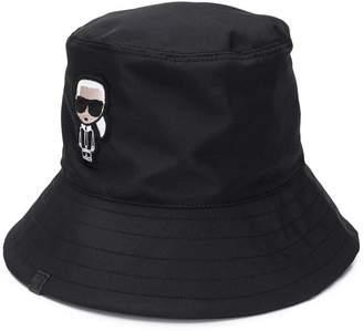 Karl Lagerfeld Paris K/Ikonik bucket hat