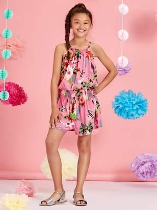 M&Co Teens' floral print playsuit