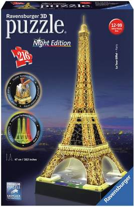Ravensburger 3D Light Up Eiffel Tower Jigsaw