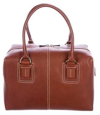 Tod's Pebbled Leather Satchel