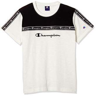 Champion (チャンピオン) - [チャンピオン] Tシャツ CX7151 ホワイト 日本 140 (日本サイズ140 相当)