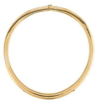 14K Omega Chain Necklace