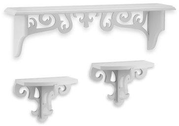 Victoria White Shelves