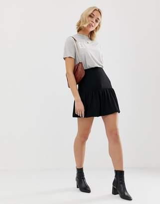 Asos Design DESIGN bubble mini skirt in texture
