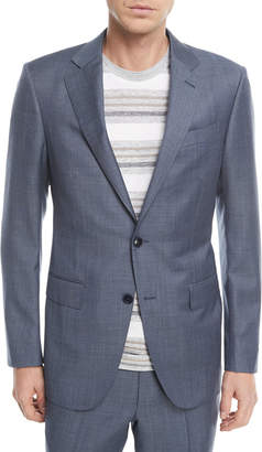 Ermenegildo Zegna Melange Wool Two-Piece Suit
