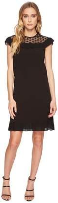 Tahari ASL Plisse Pleat Dress Women's Dress