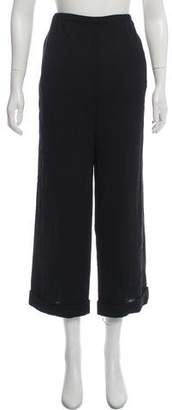 RED Valentino High-Rise Wide-Leg Pants