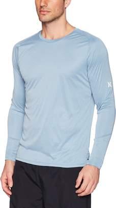 Hurley Men's Nike Dri-Fit Long Sleeve Sun Protection +50 UPF Rashguard
