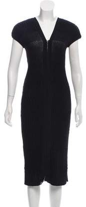 Chanel Ribbed Midi Dress