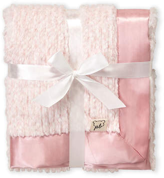Baby Essentials Piccolo Bambino (Newborn/Infant Girls) Pink Faux-Fur Stroller Blanket