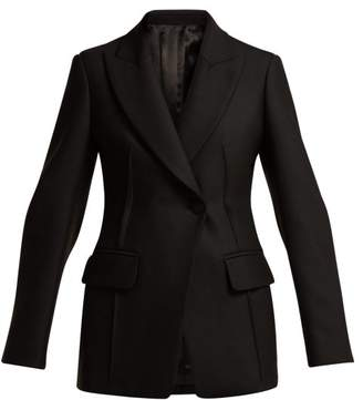 Joseph Sampson Single Breasted Twill Blazer - Womens - Black