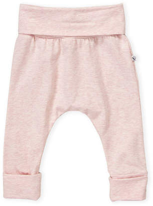 Petit Lem Newborn Girls) Solid Heather Pants